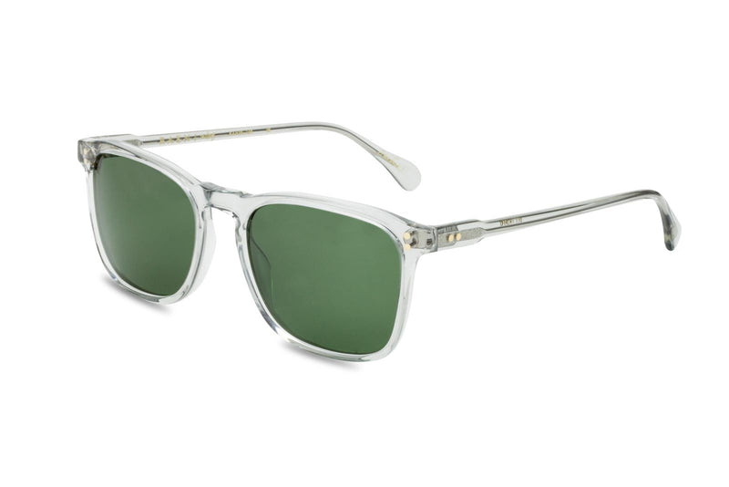 Raen Wiley clear and green lens sunglasses