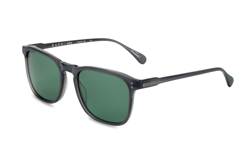 Raen Wiley grey and green lens sunglasses