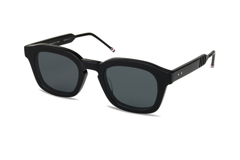 Thom Browne TB-412 black sunglasses
