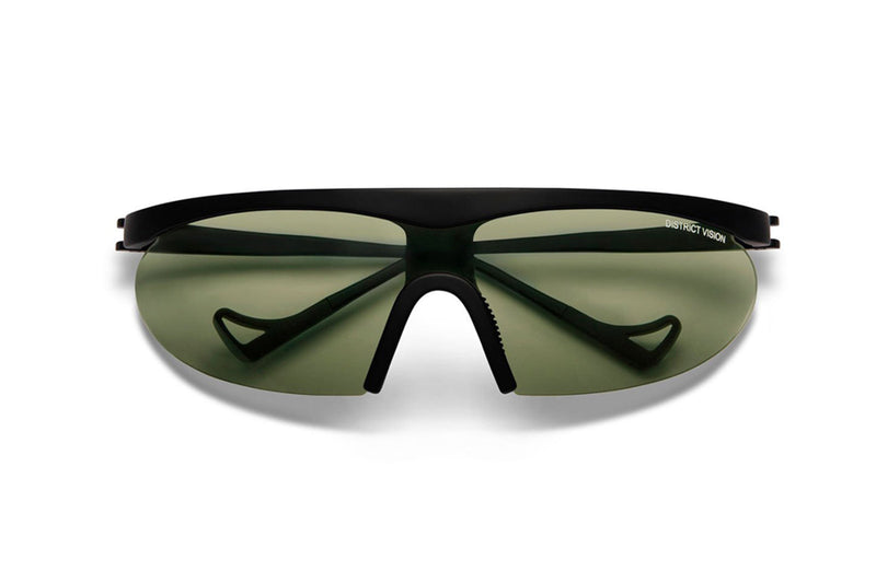 district vision koharu black sport sunglasses