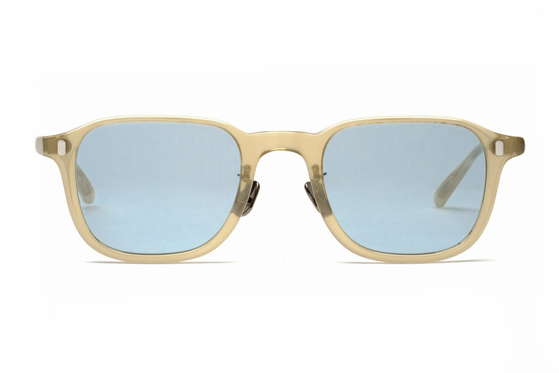 eyevan 325 pale yellow sunglasses miami