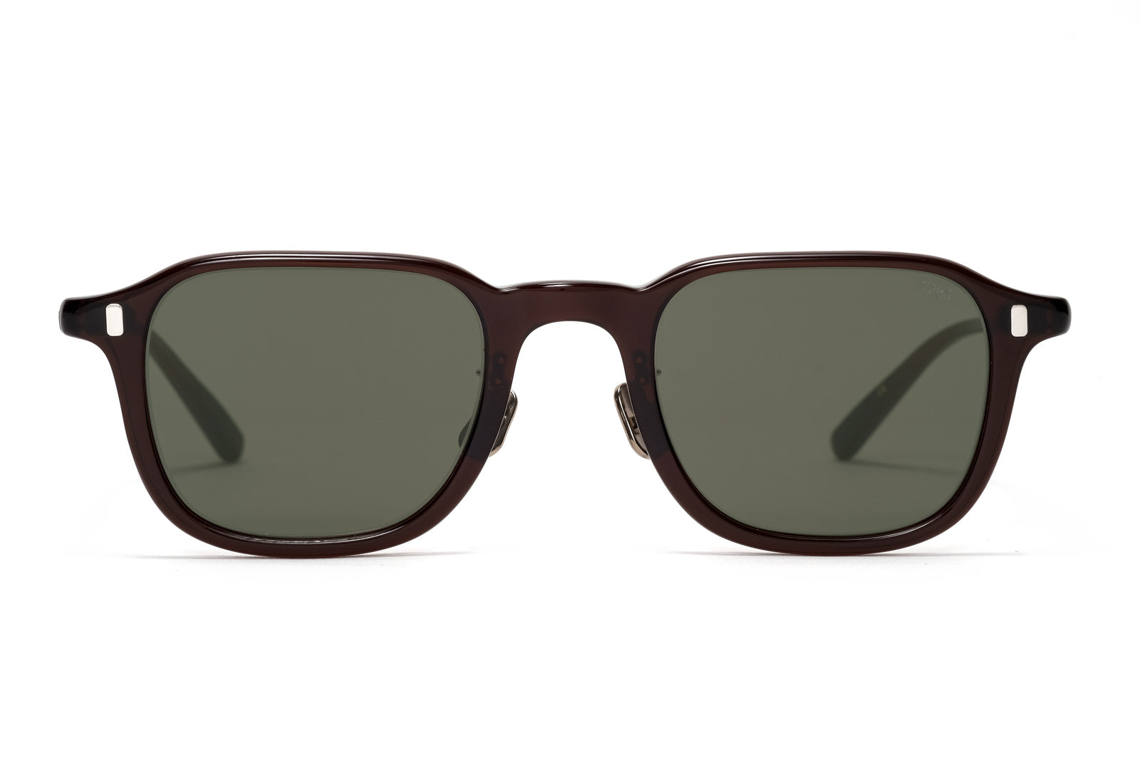 eyevan 325 brown sunglasses miami