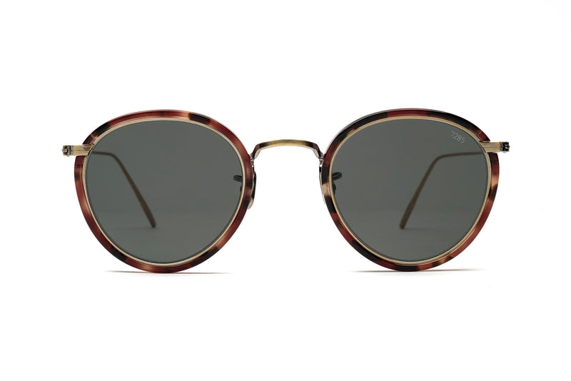 Eyevans 7285| 717 red havana sunglasses miami
