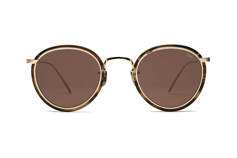 Eyevans 7285| 717 havana/gold sunglasses miami