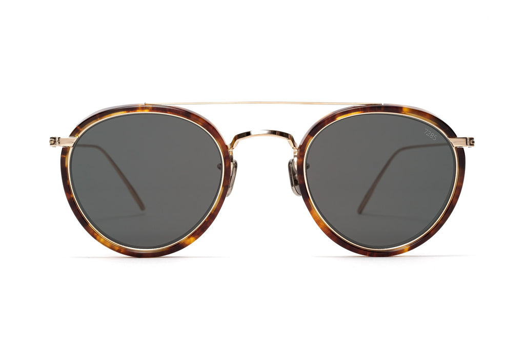 eyevan 762 round aviator sunglasses miami