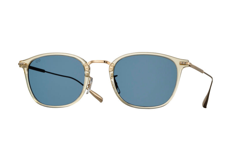eyevan caldwell champagne sunglasses