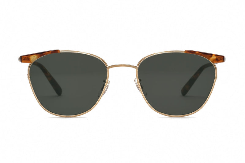 eyevan ellwood gold sunglasses miami
