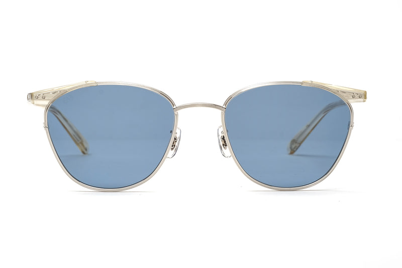 Eyevans ellwood champagne/silver sunglasses miami