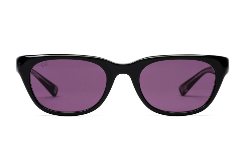 eyevan malecon black purple sunglasses miami