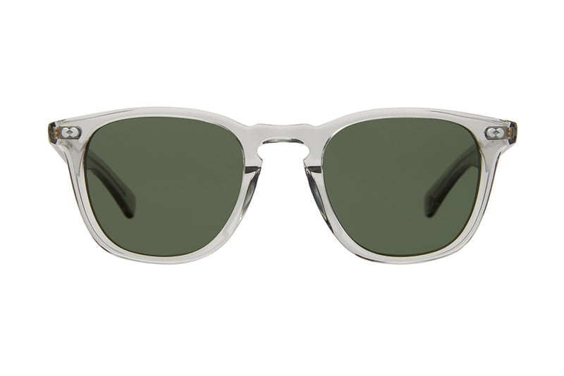 garrett leight brooks X sunglasses light grey