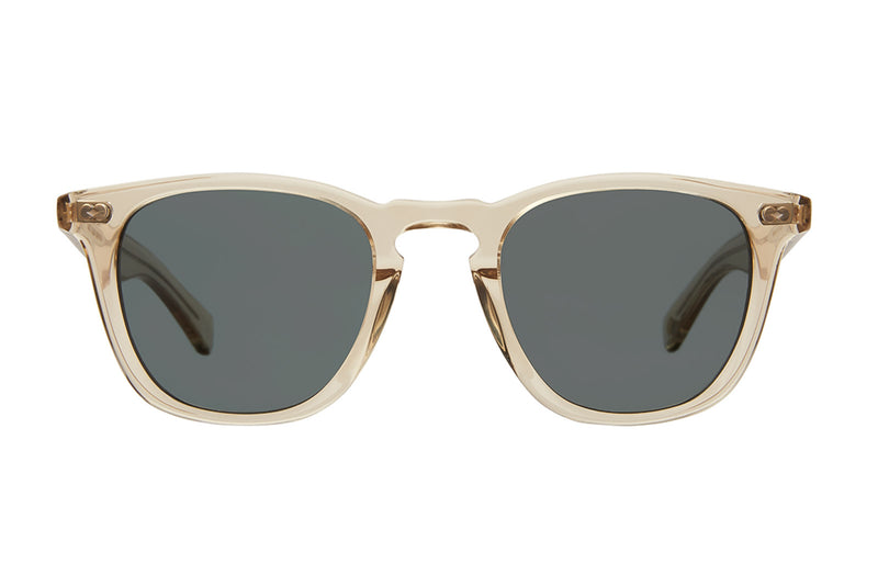 garrett leight brooks X sun champagne blue