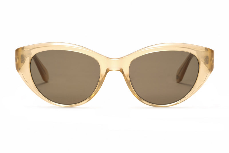 garrett leight del rey blonde sunglasses