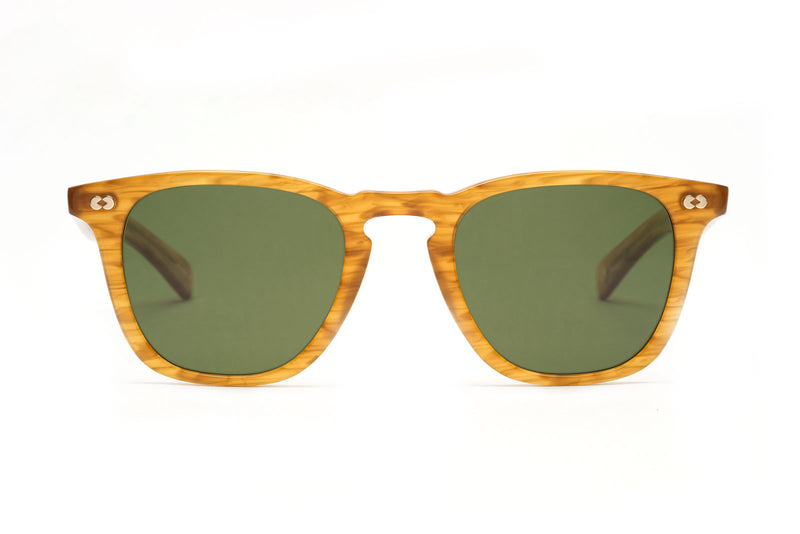 garrett leight brooks X butterscotch sunglasses