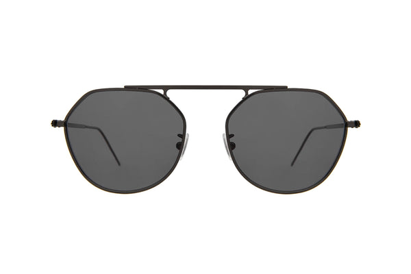 illesteva nicosia gunmetal sunglasses in miami