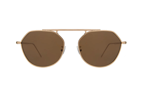 illesteva nicosia rose gold sunglasses in miami