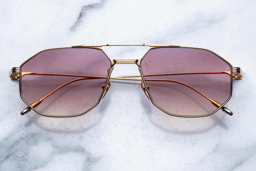 jacques marie mage bandit sunglasses gold