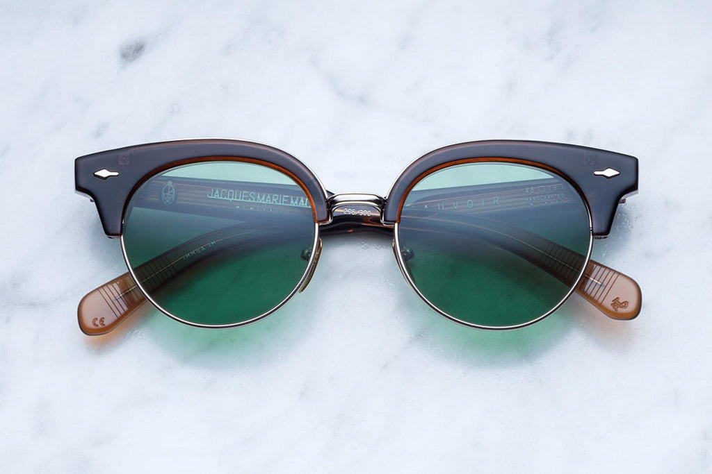 jacques marie mage beauvoir sunglasses in coffee