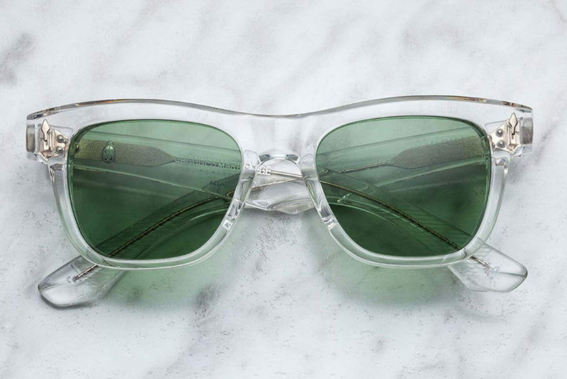 jacques marie mage fitzgerald clear sunglasses