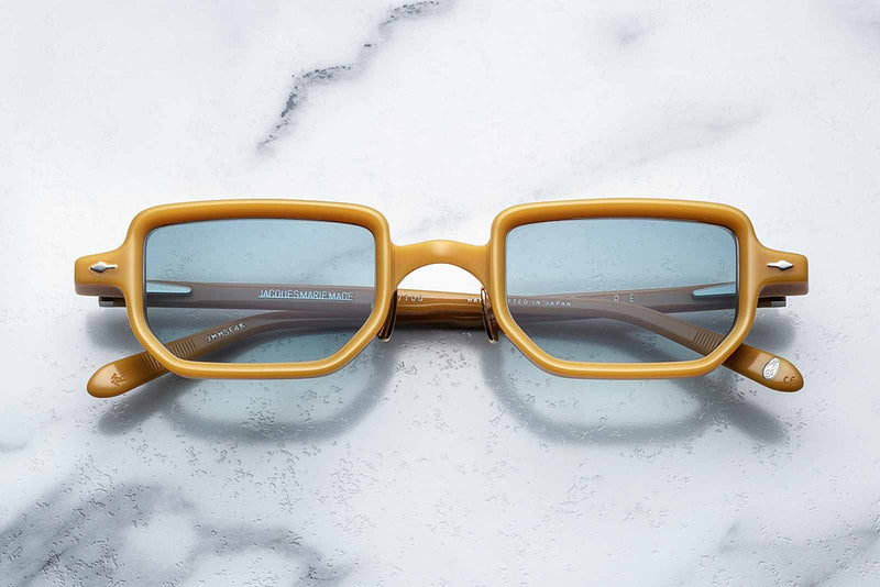 jacques marie mage astaire mustard sunglasses