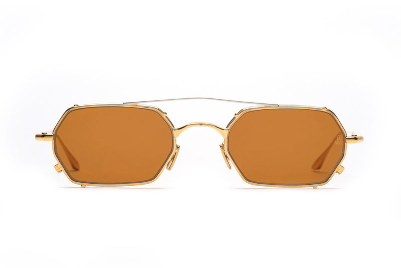 jacques marie mage amboise gold sunglasses