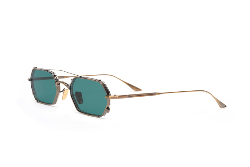 jacques marie mage amboise antique gold sunglasses