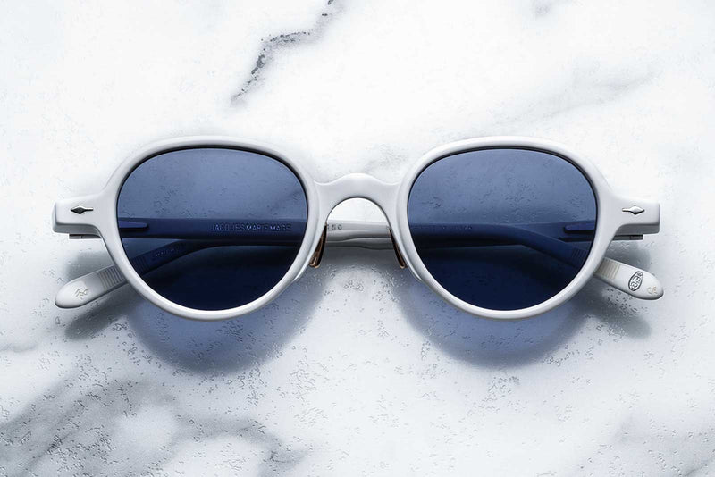 jacques marie mage clark white sunglasses
