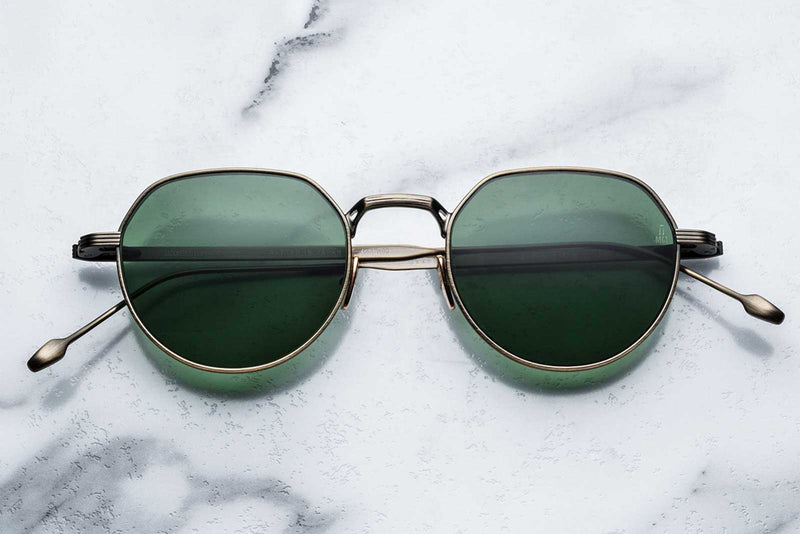 jacques marie mage fontana gold antique sunglasses