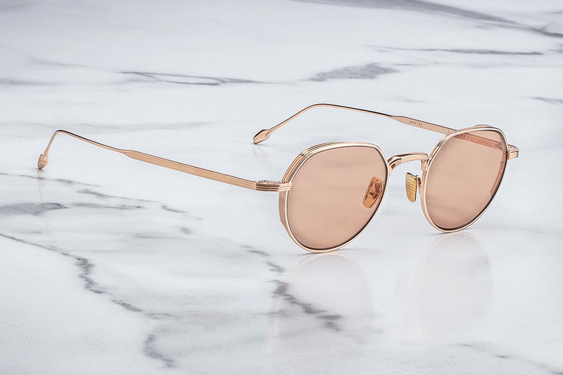 jacques marie mage fontana rose gold sunglasses twelvesixtynine
