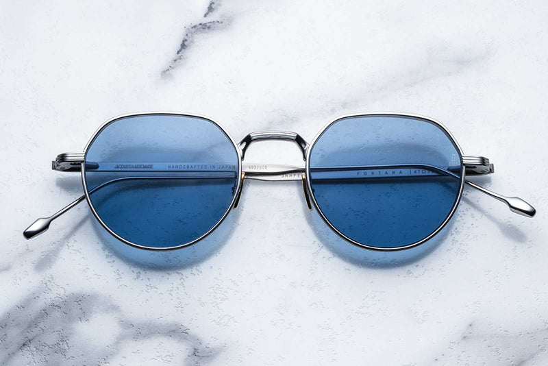 jacques marie mage fontana silver sunglasses