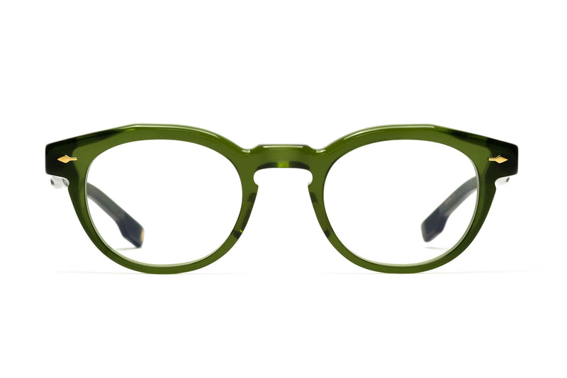 jacques marie mage noland eyeglasses in green