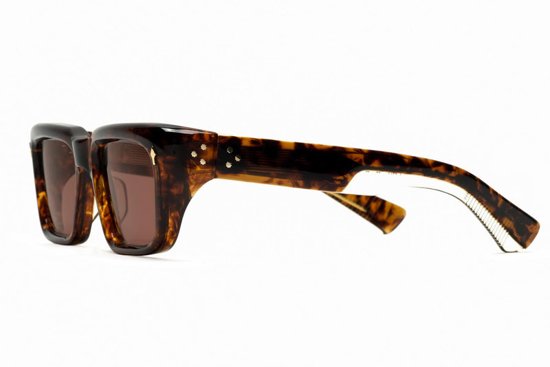 jacques marie mage walker argyle sunglasses side