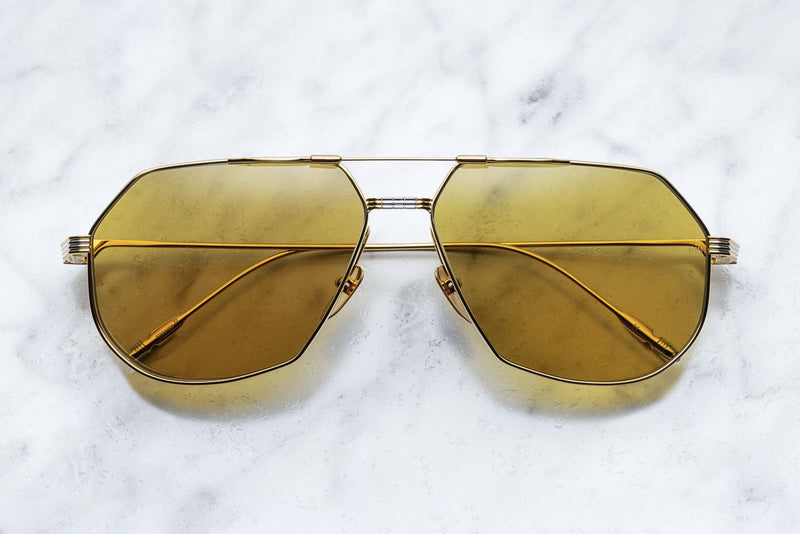 Jacques Marie Mage Reynold Gold Sunglasses