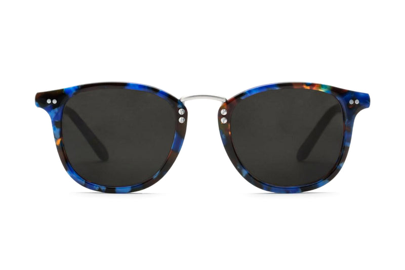 krewe franklin blue steel sunglasses miami