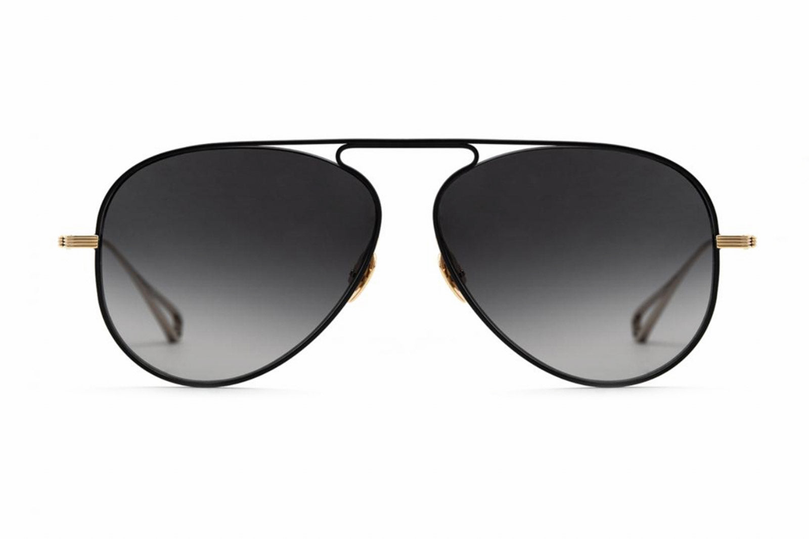 krewe marconi matte black gold sunglasses miami