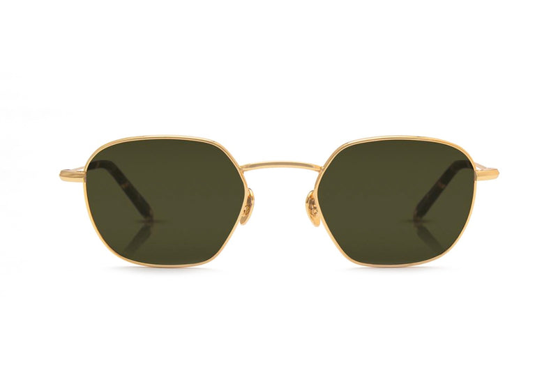 krewe ward gold sunglasses miami