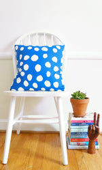 Blue Dots Teluna Pillow