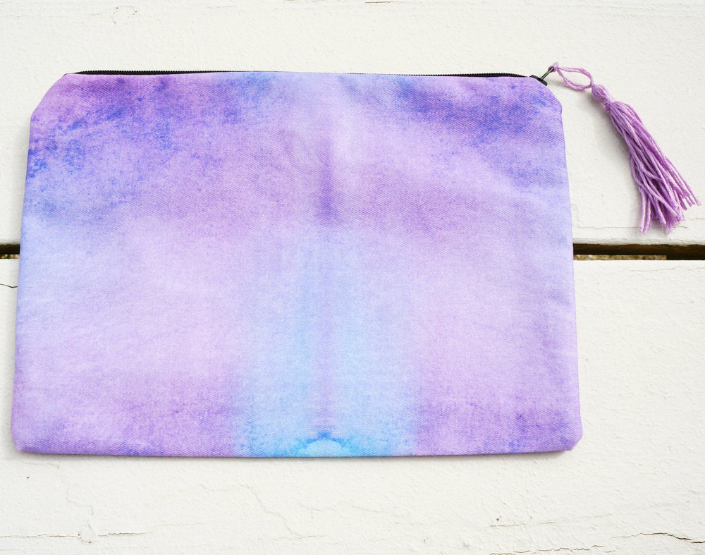 Purple Rain Clutch