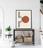 Modern Abstract Desert Print Teluna