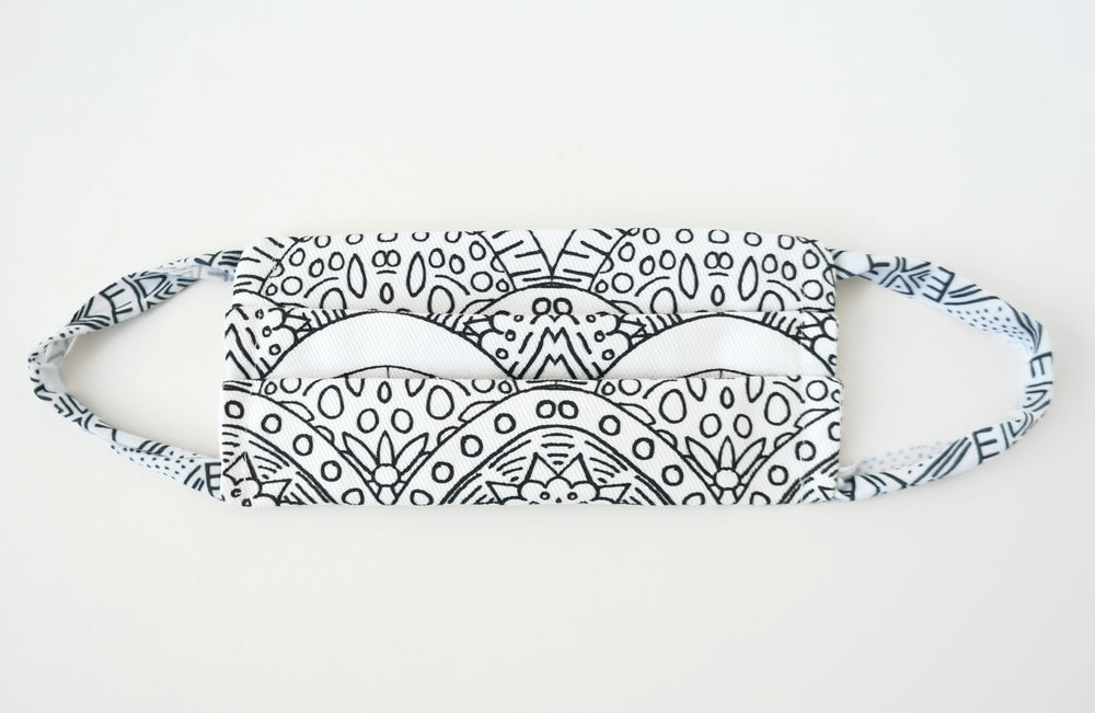 Arches Fabric Face Mask