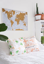 Modern Palm Bohemian Pillow Teluna