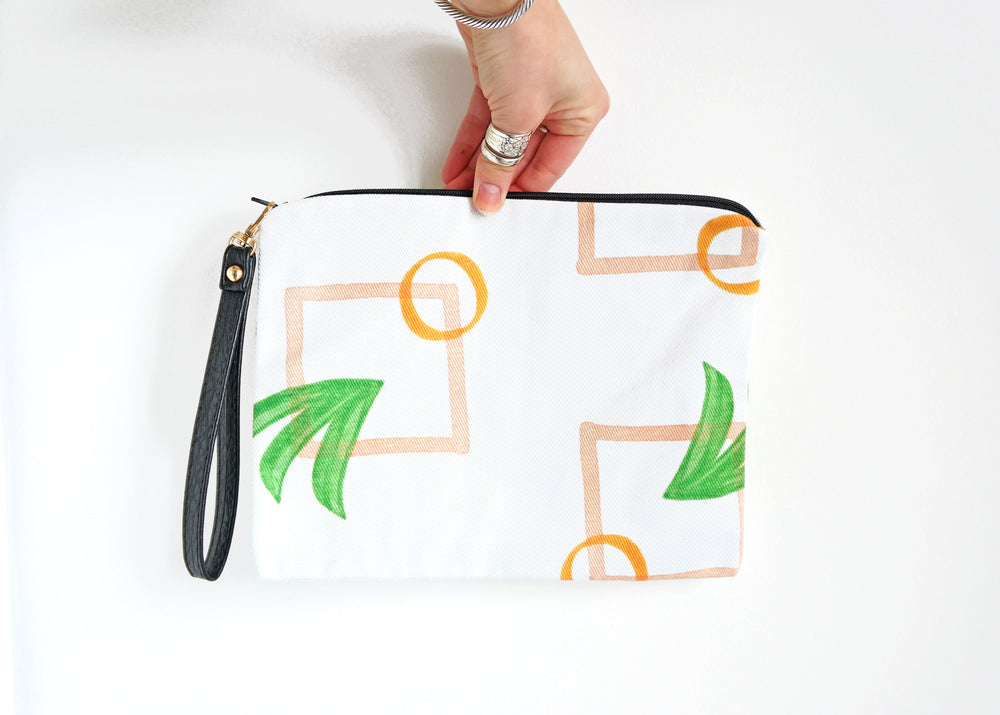 Modern Palm Clutch Teluna