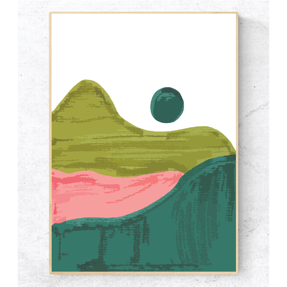 Full Moon Series Print Teluna