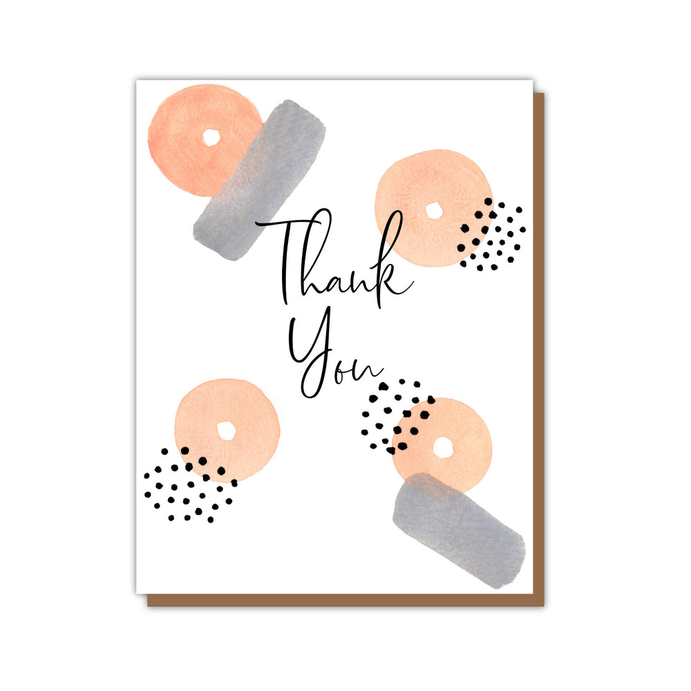 Stella Thank You Greeting Card Teluna