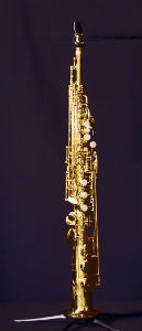 Kenny G 'G-Series IV' Lacquered Body with Lacquered Keys Soprano Saxophone
