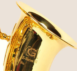 "Kenny G 'E-Series-III"" Alto Sax Clear Lacquer - Trade Show"