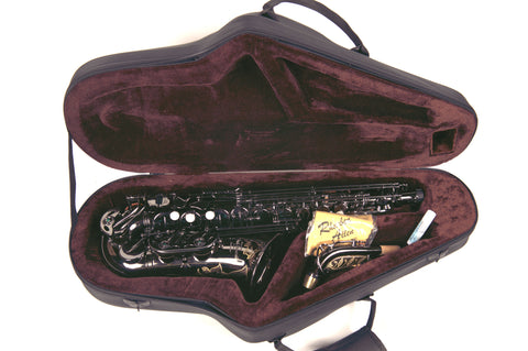 Leather Contour Alto Saxophone Case