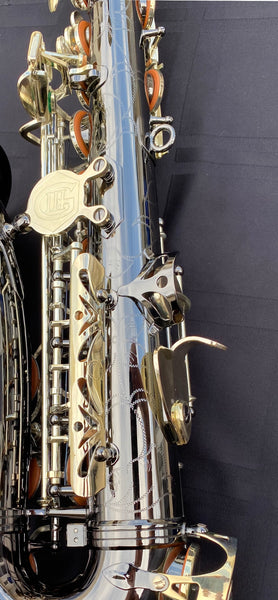 Kenny G Alto Sax Black Nickel Finish/Silver Plated Keys TSP