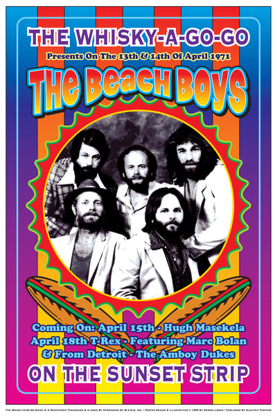 Beach Boys at the Whisky A Go Go