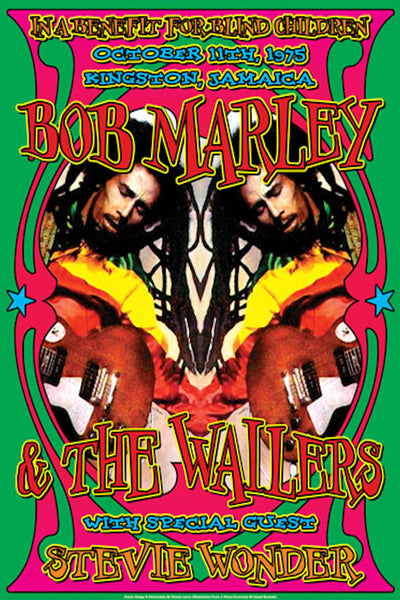 Bob Marley & The Wailers – Special Guest Stevie Wonder