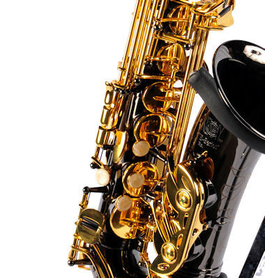 Kenny G E-Series II Black Nickel w/ Gold Lacquer Alto Sax Trade Show Special